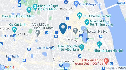 Silk Path Hotel Hanoi Map
