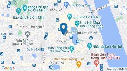 Hanoi Vision Boutique Hotel Map