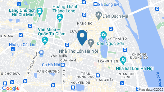 Hanoi Lotus Boutique Hotel Map