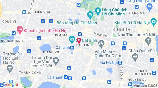 Pullman Hanoi Hotel Map