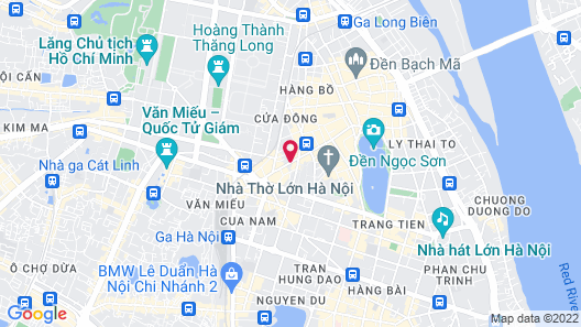 O'Gallery Premier Hotel & Spa Map