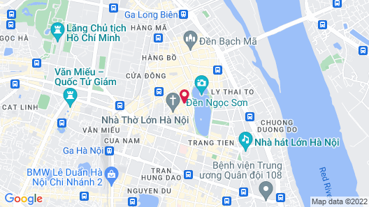 The Oriental Jade Hotel Map