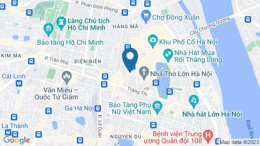 Hanoi Royal Palace Hotel 2 Map