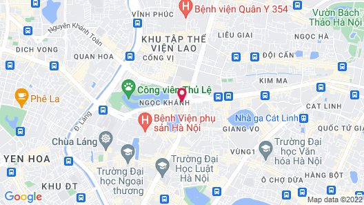 Daeha Hanoi Serviced Apartments Map