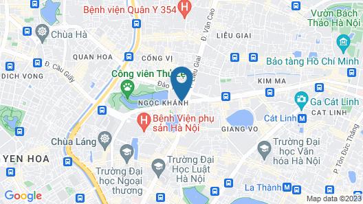 Hanoi Daewoo Hotel Map