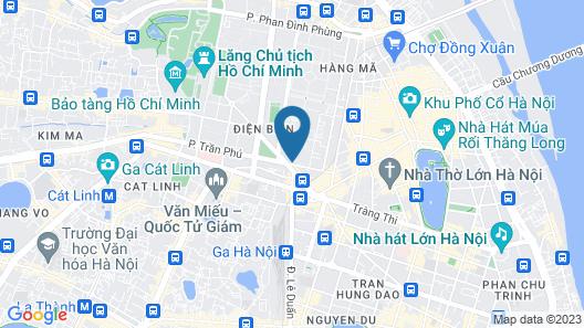 Aira Boutique Hanoi Hotel & Spa Map
