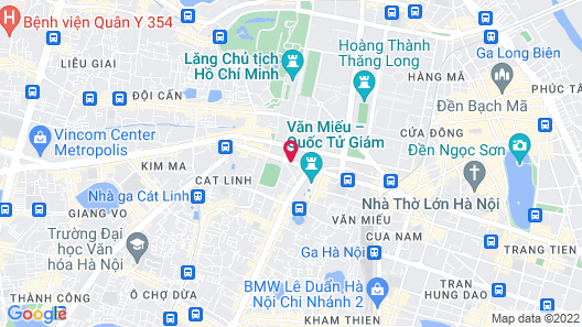 Viet Phuong hotel Map