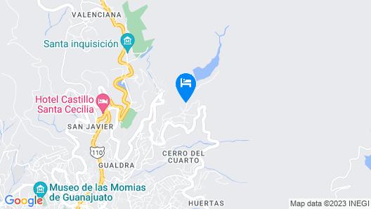 Riad Mellado by Grupo Afekto Map
