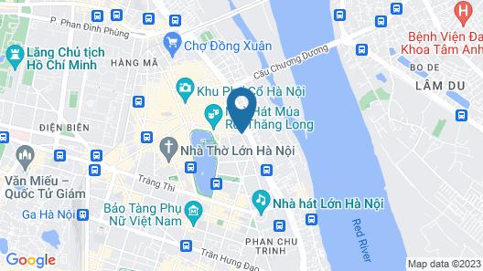 Antique Legend Hotel Map