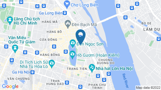 Ha Noi Capella Hotel Map