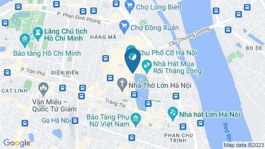 Heart Hotel Map