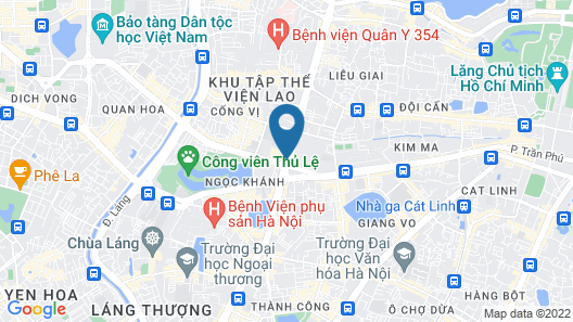 Lotte Hotel Hanoi Map