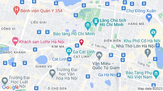 A25 Hotel - Nguyen Thai Hoc Map