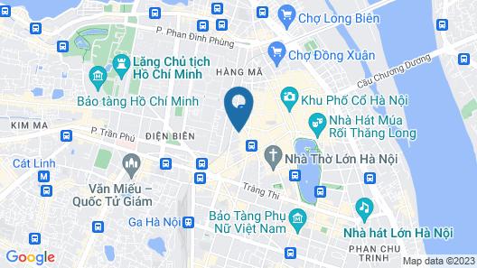 Hanoi La Siesta Hotel Trendy Map