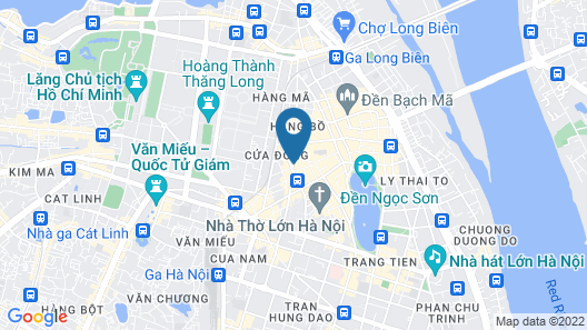 Hanoi Trendy Hotel & Spa Map