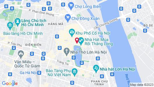 Hanoi La Selva Central Hotel Map