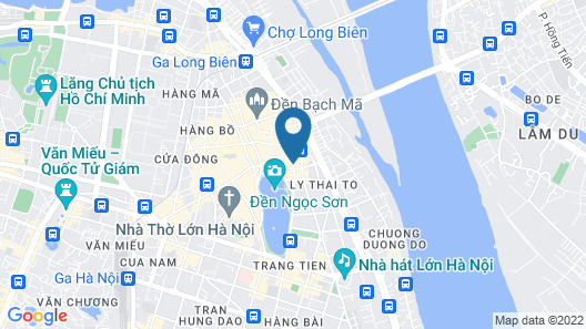 Lavender Central Hotel & Spa Map