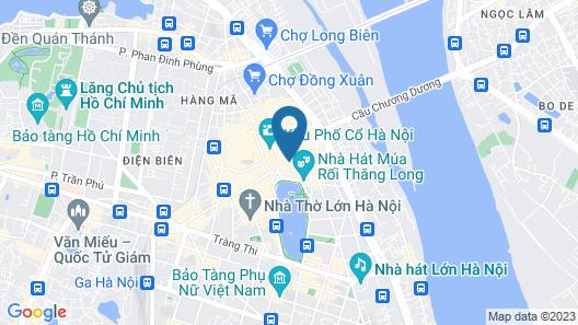 Rex Hanoi Hotel Map