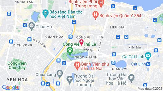 Apartment Dao Tan Map