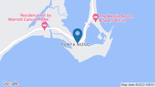 Nizuc Resort and Spa Map