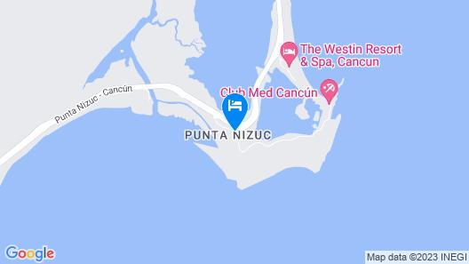 Nizuc Resort and Spa Map