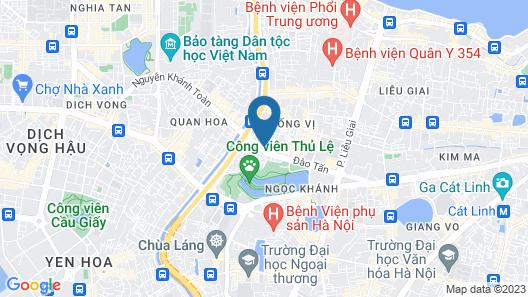 Kegon Hotel Map