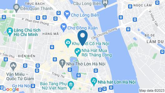 Hanoi Horse Hotel Map