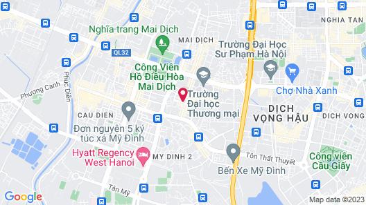 Hoang Anh 2 Hotel Map