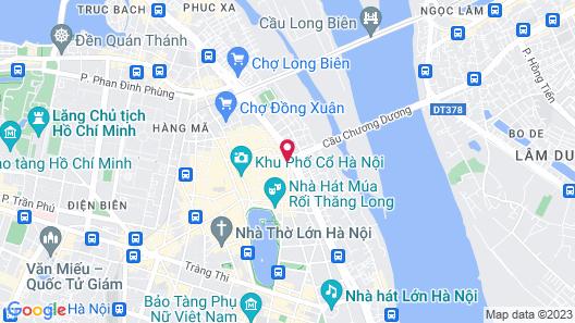 Hanoi Old Quarter Hotel Map