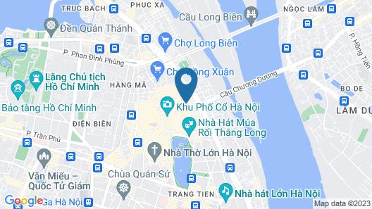 Hanoi Allure Hotel Map