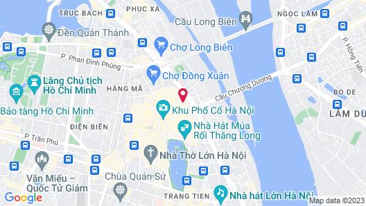 Medallion Hanoi Hotel Map