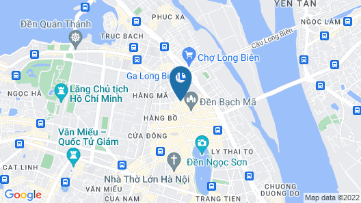Hanoi Ancient Paradise Hotel Map