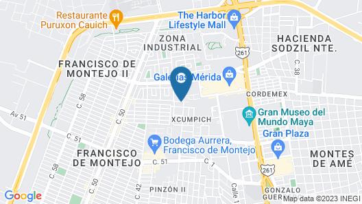 Residence Inn by Marriott Merida Map