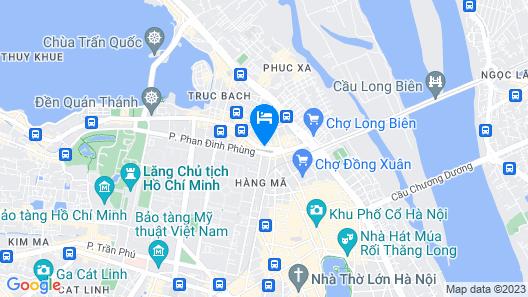 Hanoi Anise Hotel & Spa Map