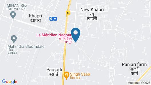 Le Meridien Nagpur Map