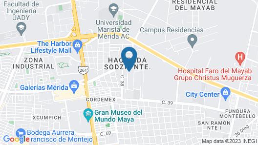 Casa de Camposampiero Hotel Boutique Map
