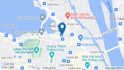 Hanoi Le Jardin Hotel & Spa Map