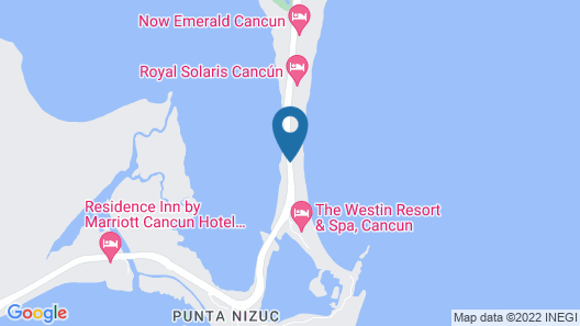 Sun Palace Couples Only All Inclusive Map