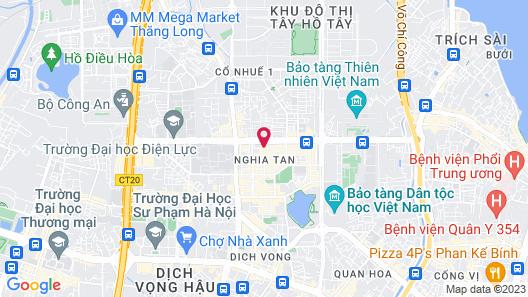 A25 Hotel Hai Yen Map