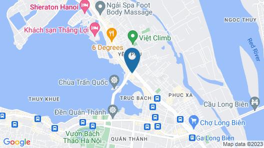 Pan Pacific Hanoi Map