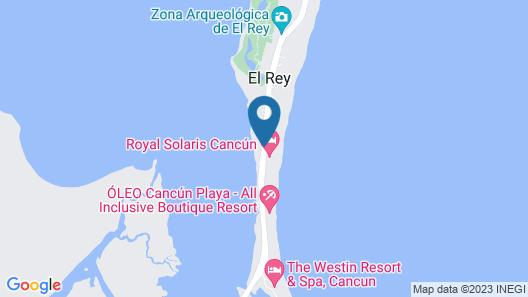 Royal Solaris Cancun Resort Marina & Spa - All Inclusive Map