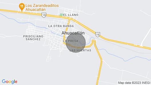 Quinta Valentina Hotel Map