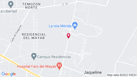 Holiday Inn Hotel & Suites Merida La Isla, an IHG Hotel Map