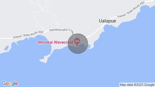 Wavecrest A204 - Molokai Vacation Properties Map