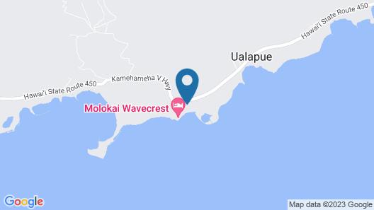 2 BR Oceanfront Luxury Condo at Wavecrest! Amazing Views! Map