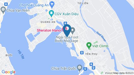 InterContinental Hanoi Westlake Map