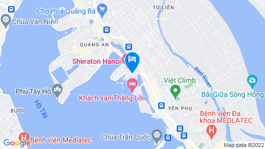 InterContinental Hanoi Westlake, an IHG Hotel Map