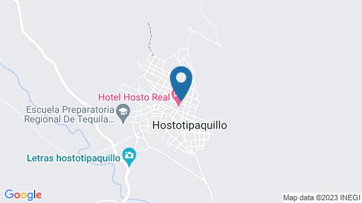 Hotel Hosto Real Map