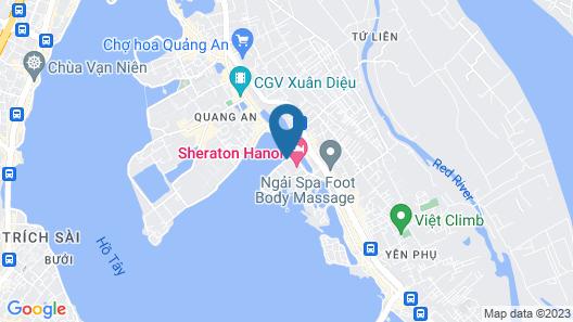 Sheraton Hanoi Hotel Map