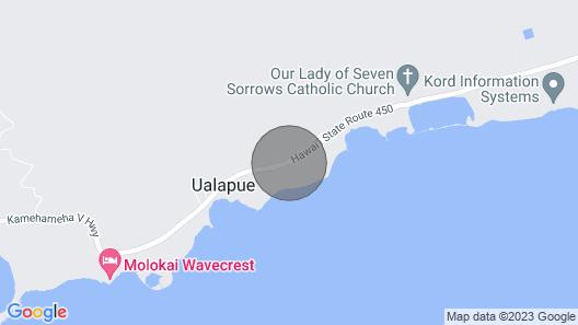 Wavecrest C316 - Molokai Vacation Properties Map